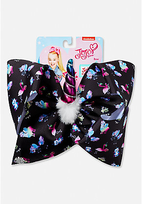 Justice Exclusive Spooky Unicorn Jojo Siwa Hair Bow