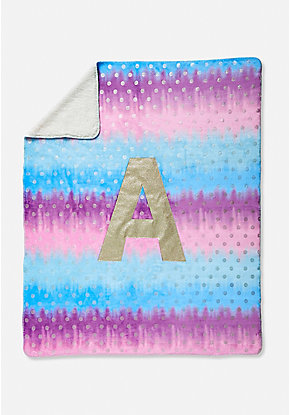 Ombre Initial Blanket