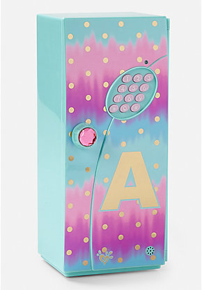 Initial Ombre Foil Dot Mini Locker