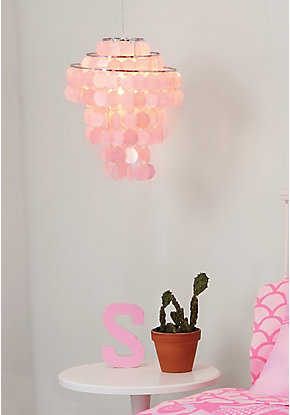 Pink Light-Up Chandelier