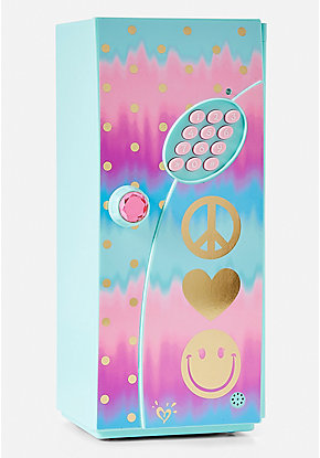 Ombre Foil Dot Mini Locker