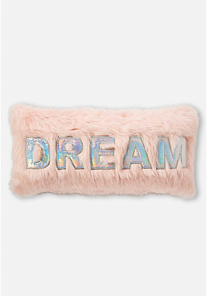Dream Faux Fur Pillow