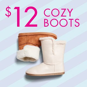 $12 Cozy Boots
