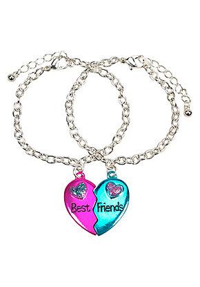 Bff Metallic Magnetic Bracelets