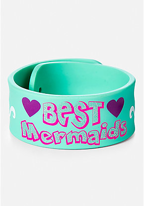 BFF Mermaid Slap Bracelet