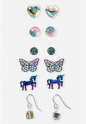 Get Happy Earrings - 6 Pack