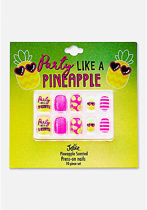 Party Like A Pineapple Press On Nails