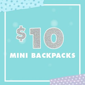$10 Mini Backpacks