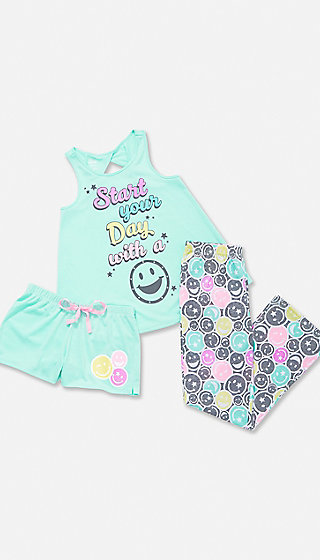 Start with a Smile Pajama Set