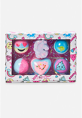 Emoji Bath Bomb Set