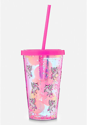 Unicorn Bath Bomb & Shaky Tumbler Set