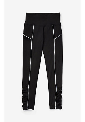 Reflective Ruched Leggings