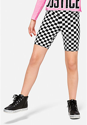 Pattern Bike Shorts
