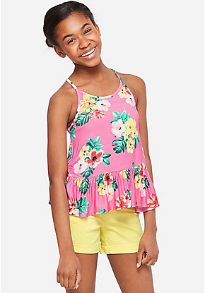 8892784158bc Girls' Fashion Tops & On-Trend Tees | Justice