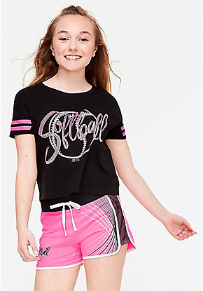 71416e592a071 Girls' Activewear - Sport & Gym Clothes | Justice