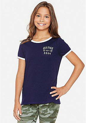 bdf51e91b3 Cute Shirts, Blouses, Tops, & Tees For Tween Girls | Justice