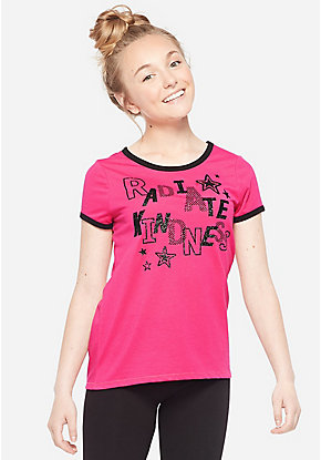 458bf44bda317e Cute Shirts, Blouses, Tops, & Tees For Tween Girls | Justice
