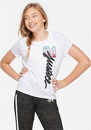 688bdb13fa58d Cute Shirts, Blouses, Tops, & Tees For Tween Girls | Justice