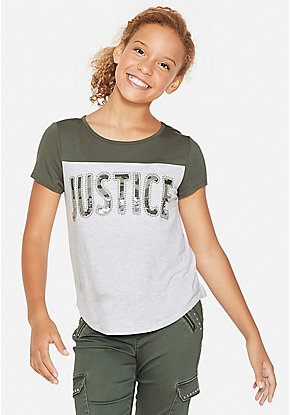 a871f51b1b24 Cute Shirts, Blouses, Tops, & Tees For Tween Girls | Justice