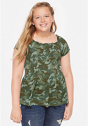 65aff43161e00 Tween Girls' Plus Size Clothing - Sizes 6-24 Plus | Justice
