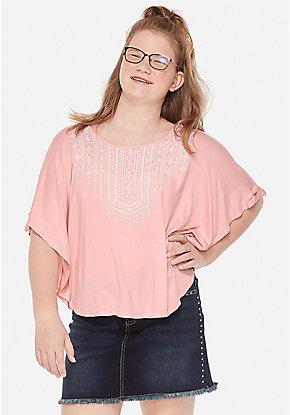b3154ba5986 Girls' Plus Size Tops & Shirts - Sizes 10/12-24 Plus | Justice