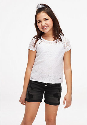 Lace Layered Tee