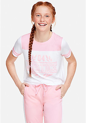 59d41bed7c90 Girls  Clearance Activewear Tops