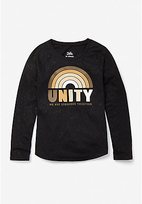 Unity Graphic Long Sleeve Tee
