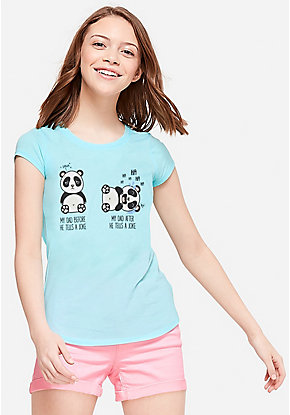 aa792745 Girls' Graphic Tee Shirts - Trendy, Funny & Cute Styles | Justice
