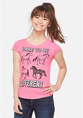 Glitter Be Different Graphic Tee
