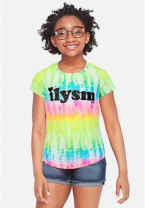 7e20a0795c2 Girls' Graphic Tee Shirts - Trendy, Funny & Cute Styles | Justice