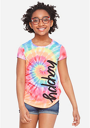 edc9267a569fc Girls  Graphic Tee Shirts - Trendy