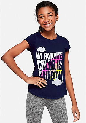 7deee5011 Girls' Graphic Tee Shirts - Trendy, Funny & Cute Styles | Justice