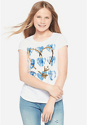 1853dc98 Girls' Graphic Tee Shirts - Trendy, Funny & Cute Styles | Justice