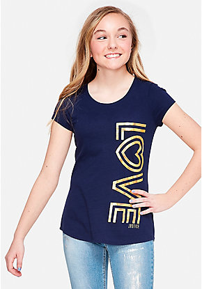 7be9f5ad85c Girls  Graphic Tee Shirts - Trendy