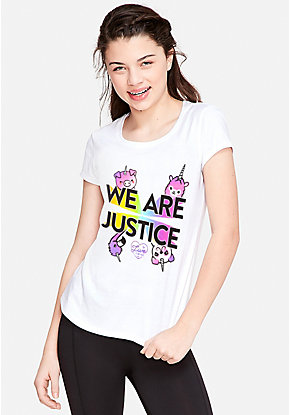 We Are Justice Graphic Tee