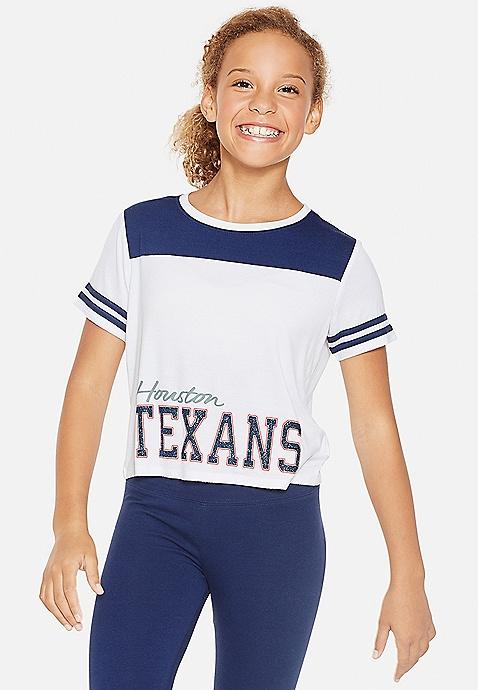 2e14b704 Houston Texans Football Tee | Justice