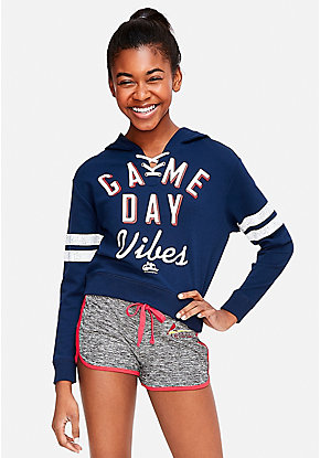 St Louis Cardinals Game Day Vibes Lace Up Hoodie