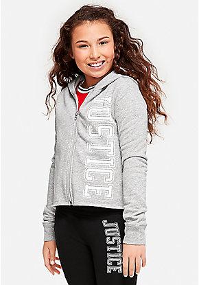 4e943881ffb Tween Girls' Sweatshirts, Hoodies & Sporty Zip-Ups   Justice