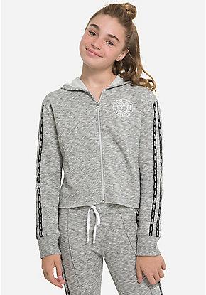 34949d59f8 Tween Girls' Sweatshirts, Hoodies & Sporty Zip-Ups   Justice