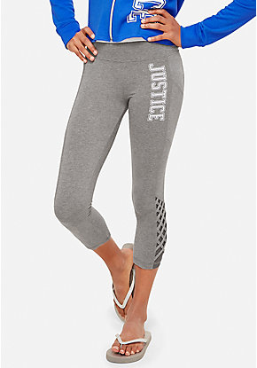 Lattice Logo Crop Leggings