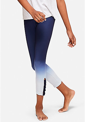 cdc887ace Ombre Lattice Crop Leggings