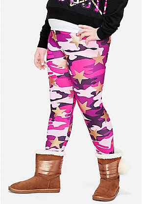 Foil Camo Leggings