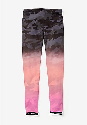 Ombre Camo Leggings