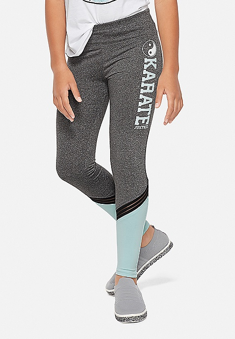 Sport Color block Leggings | Justice