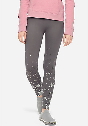 Criss Cross Pattern Leggings