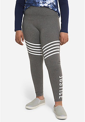 Logo Stripe Leggings