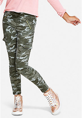 quality design c04e7 33917 Camo Pull On Cargo Pants