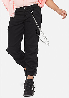 9cf1c398e91c77 Girls' Joggers & Lounge Pants - Velvet, Athletic, French Terry | Justice
