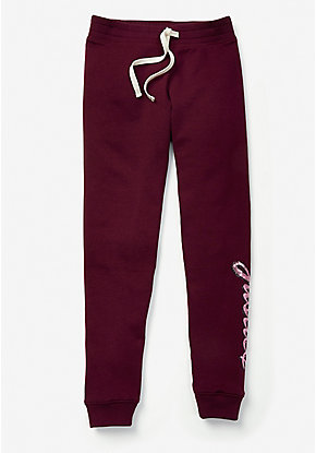 Sparkle Logo Fleece Joggers